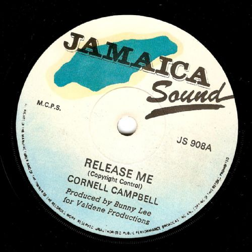 CORNELL CAMPBELL Release Me Vinyl Record 7 Inch Jamaica Sound 1978